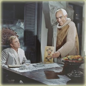 Michael Caine, Anthony Quinn - The Magus